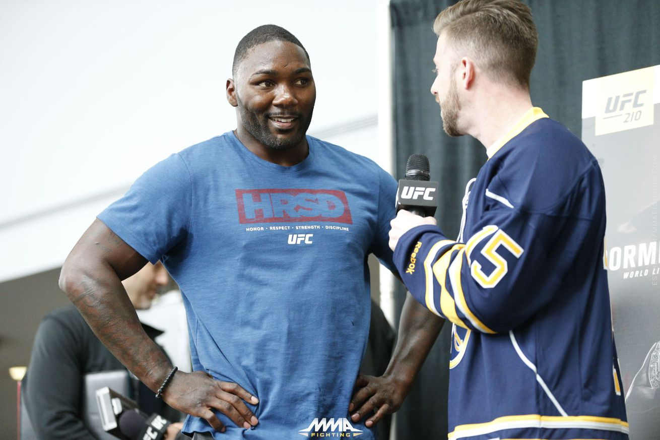 Anthony Johnson issues farewell to MMA: 'The End of Rumble'