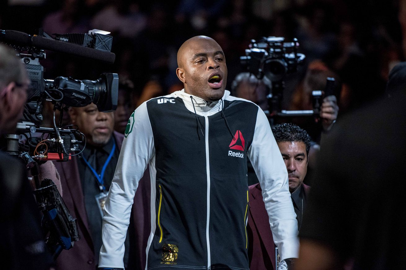 Anderson Silva tired of UFC's 'bullsh*t,' wants Yoel Romero interim title fight or warns 'he's done'