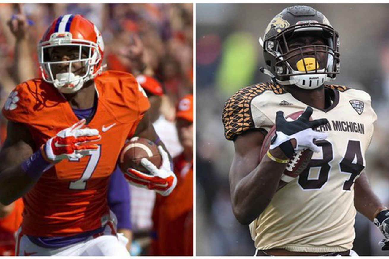Comparing Mike Williams and Corey Davis: Who is the better prospect?
