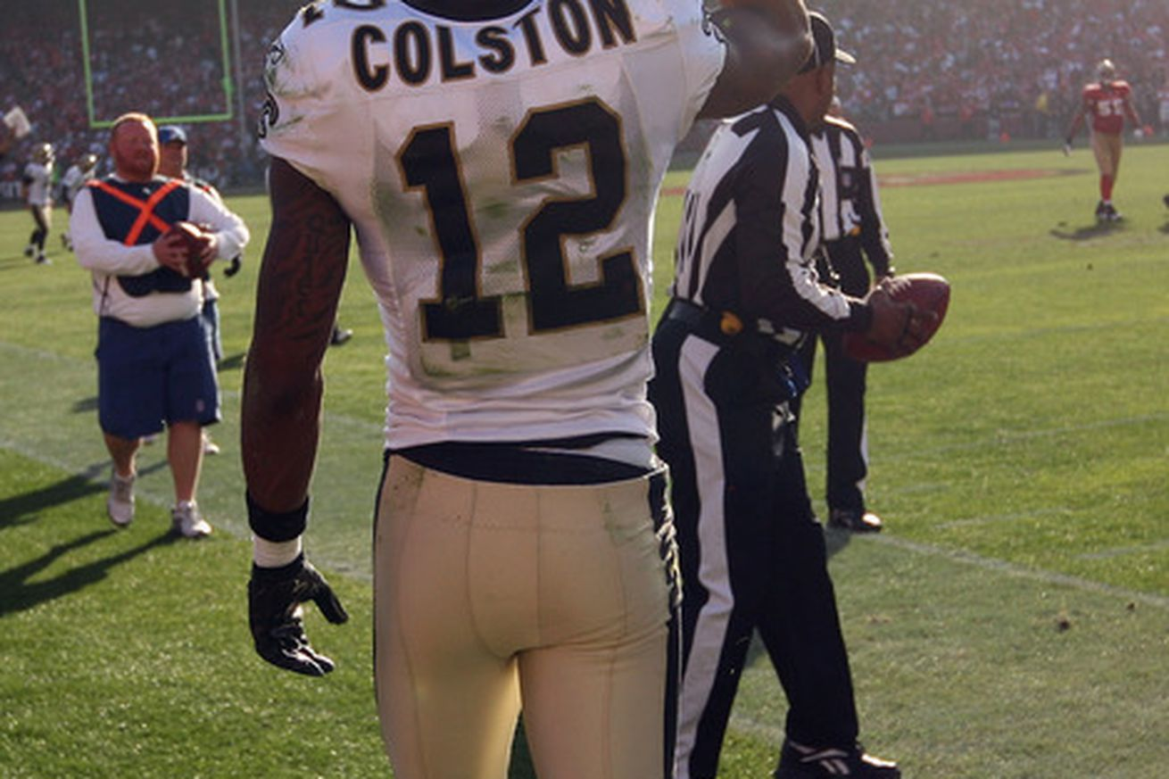 nfl GAME New Orleans Saints Marques Colston Jerseys