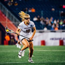 BC defender Carly Bell