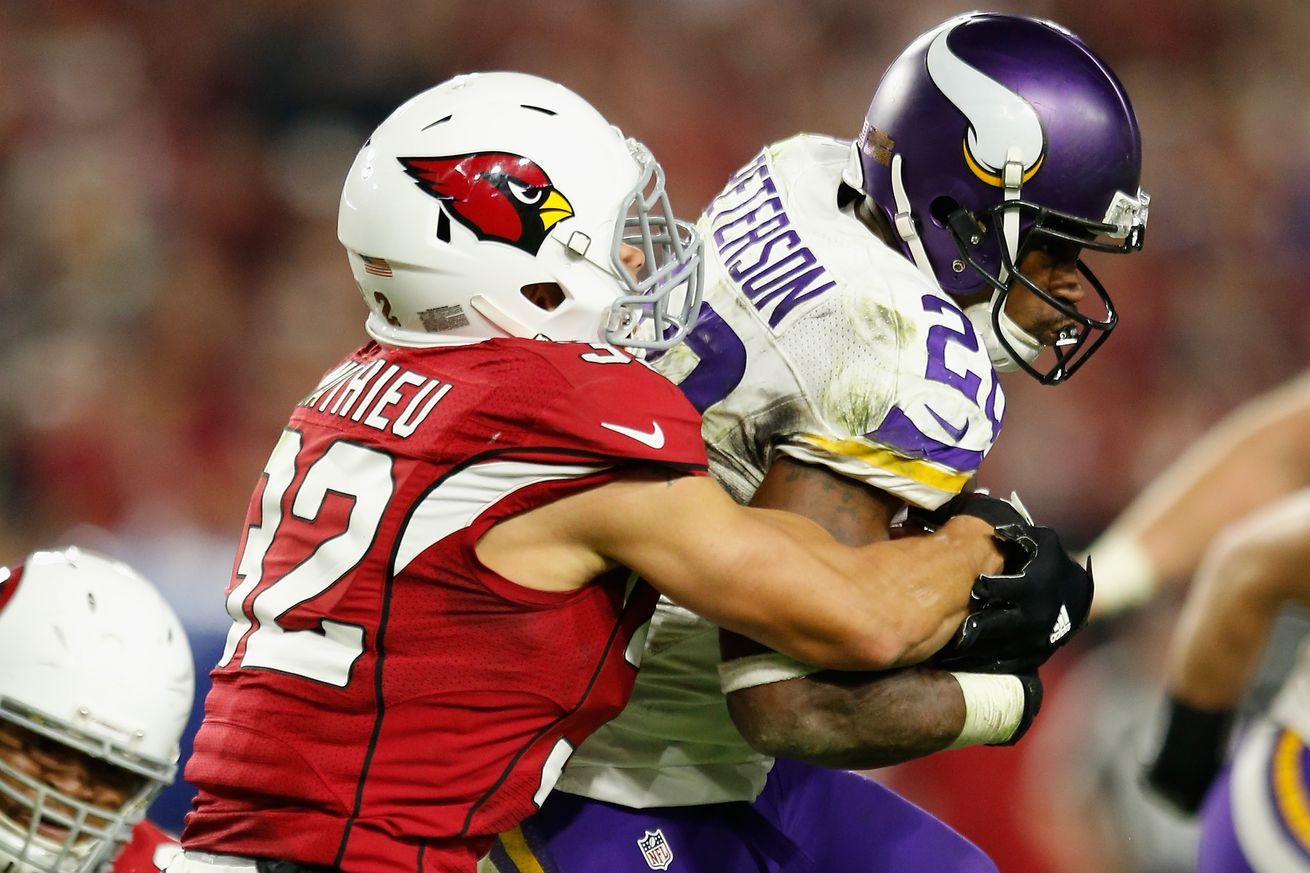 Jerseys NFL Cheap - Carson Palmer, Tyrann Mathieu among 5 PFF Pro Bowlers for Arizona ...