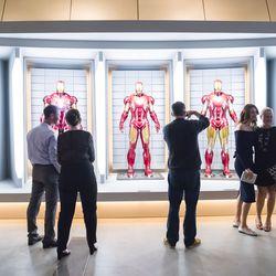 Iron Man's suits.