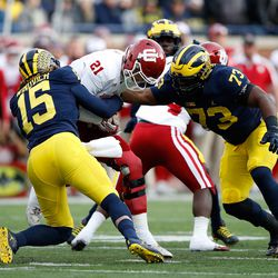 Chase Winovich might be doubted because of his size, but he's a hard-working player who gets to the ball quickly.