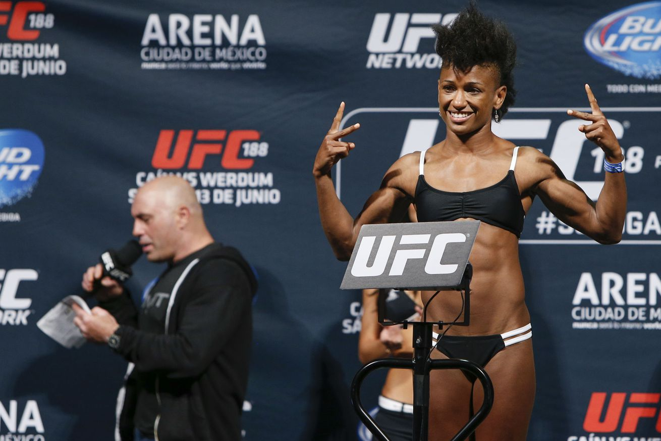 Angela Hill believes Joanna Jedrzejczyk would be 'easier fight' for her than Jessica Andrade