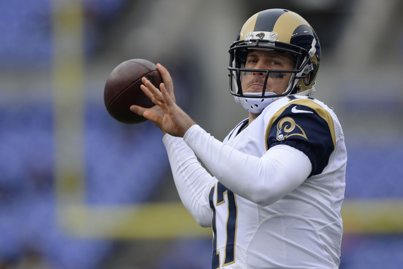 Nike NFL Jerseys - NFLPA says the Rams should be punished for handling of Case Keenum ...
