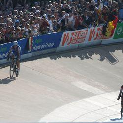 Stybar goes high in velodrome