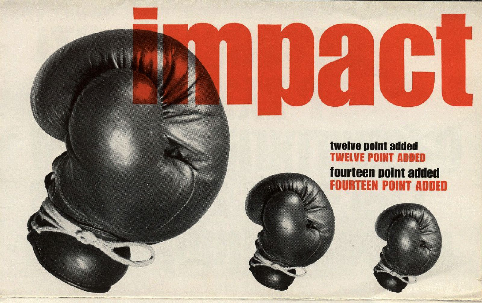 This is from the original Stephenson Blake ad for Impact.