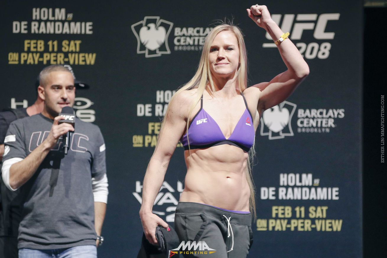 Holly Holm confident she's still in the mix for title contention despite three fight losing streak