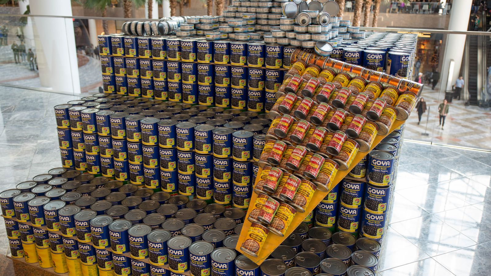 See the Guggenheim Museum and Pizza Rat made from canned food - Curbed NY