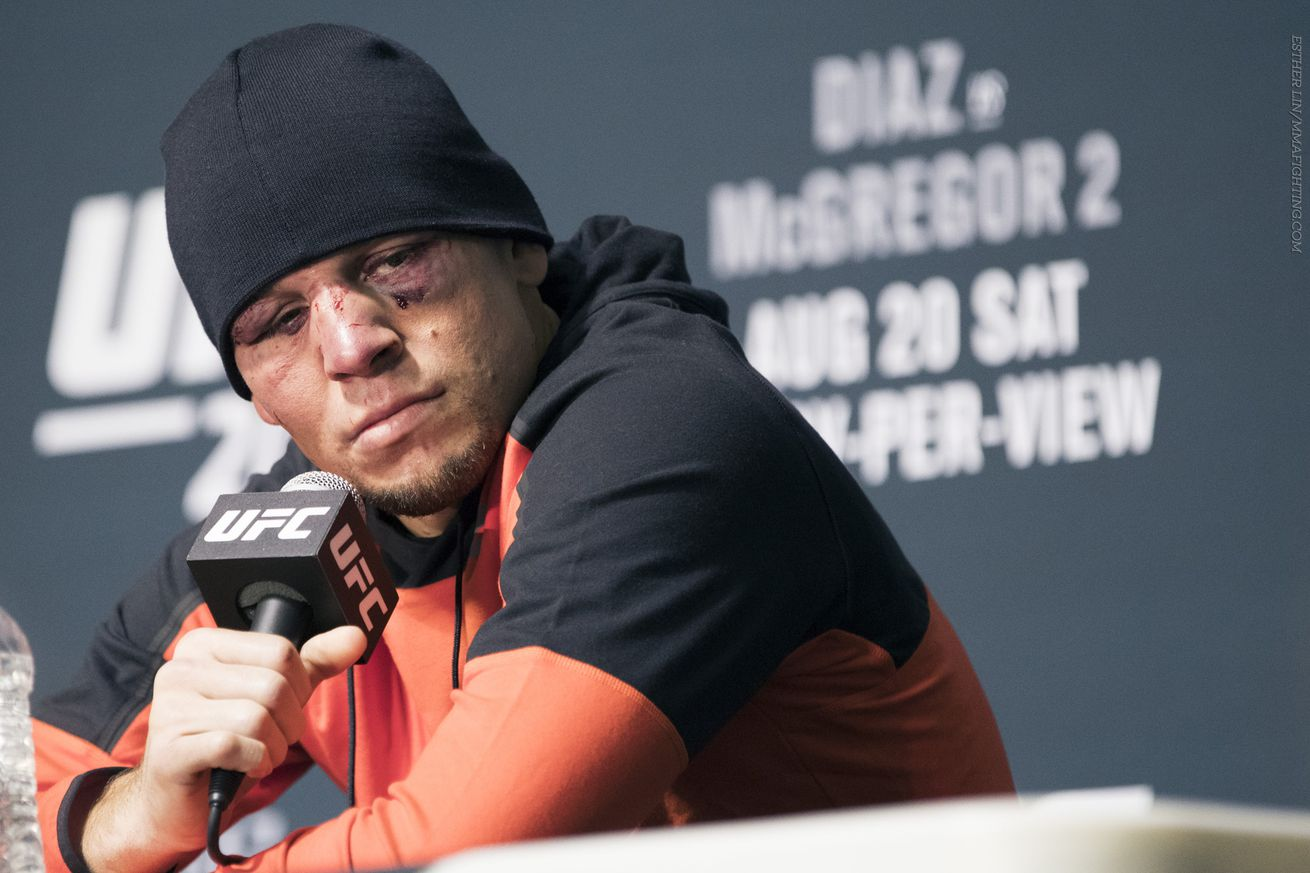 Nate Diaz: 'A lot of fighters are' superstars, they just need to realize it