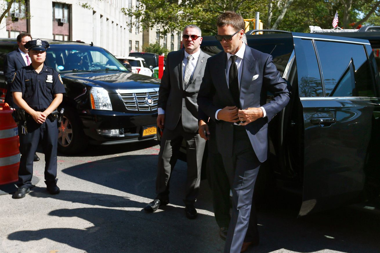 Brady's appeals petition denied; he's still suspended