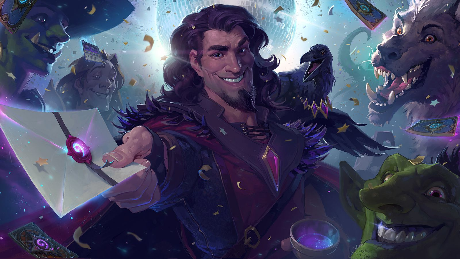 One Night in Karazhan is Hearthstone's next adventure, adds 45 new cards