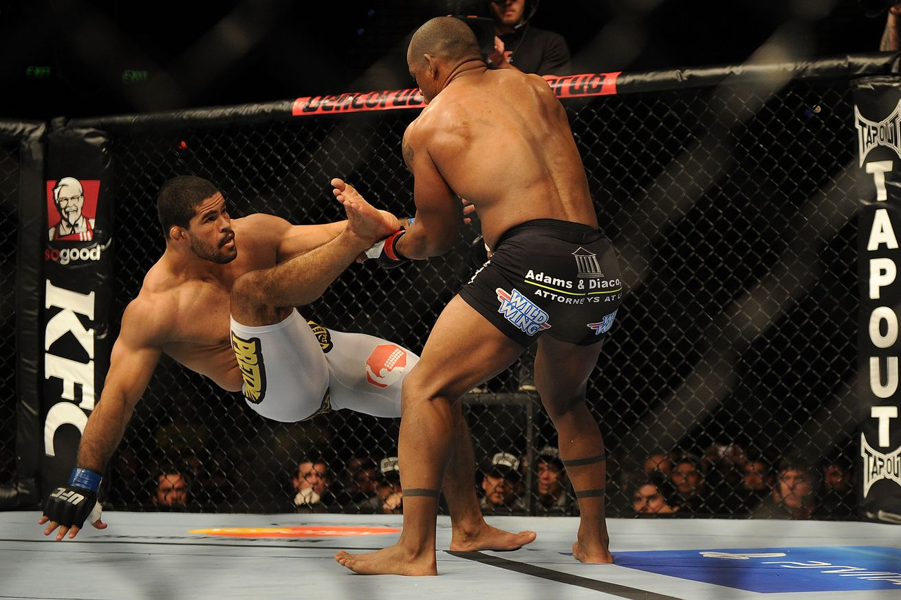 MMA loose cannon, Rousimar Palhares, is fighting on June 30 in Russia