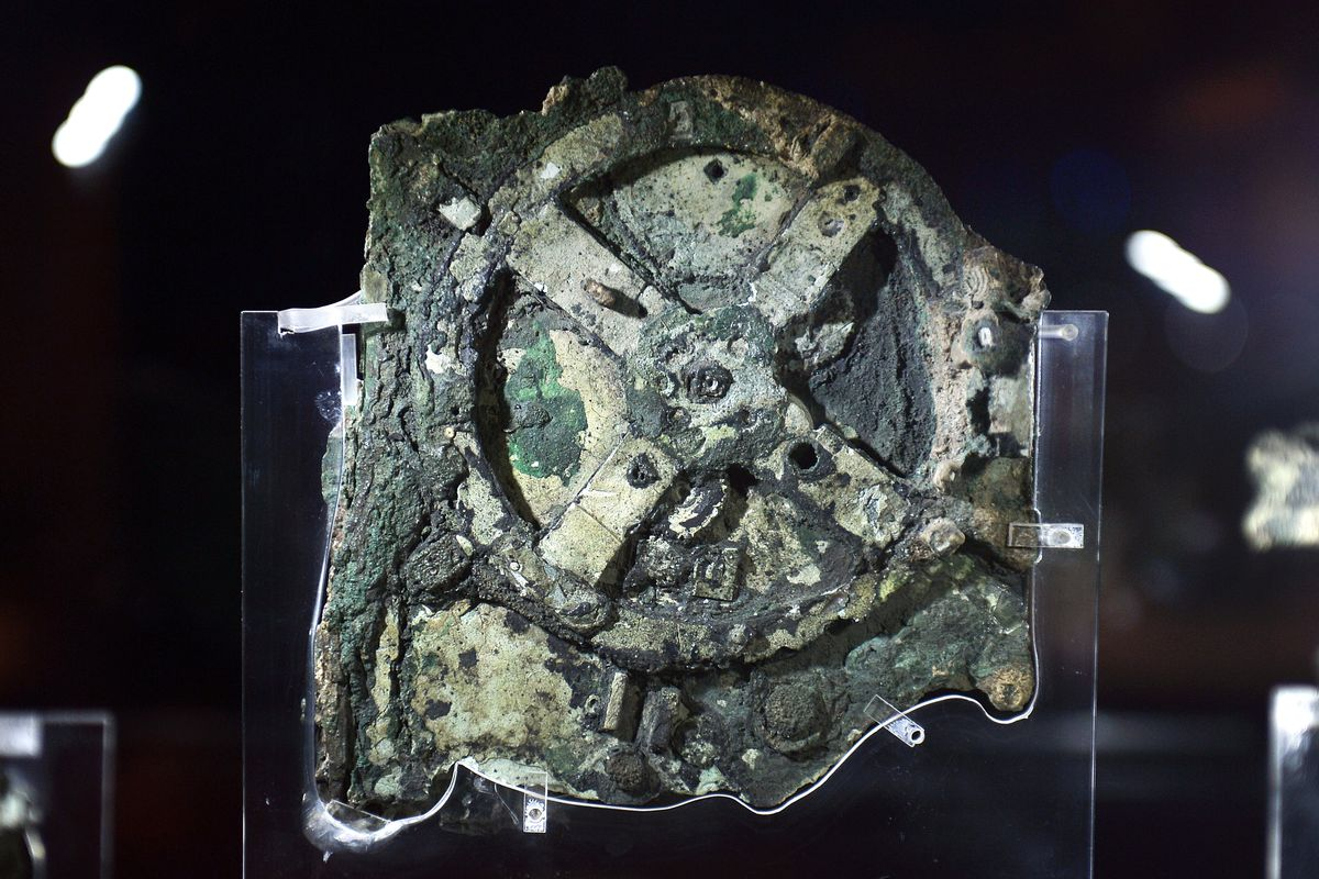 Google doodle of today celebrates Antikythera mechanism's discovery