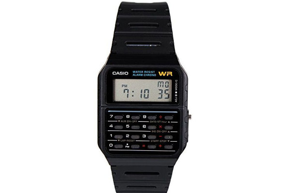 This Casio Calculator Watch Is Better Than Apple Watch ...