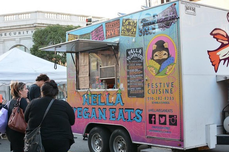 Vegan Food Truck Sf
