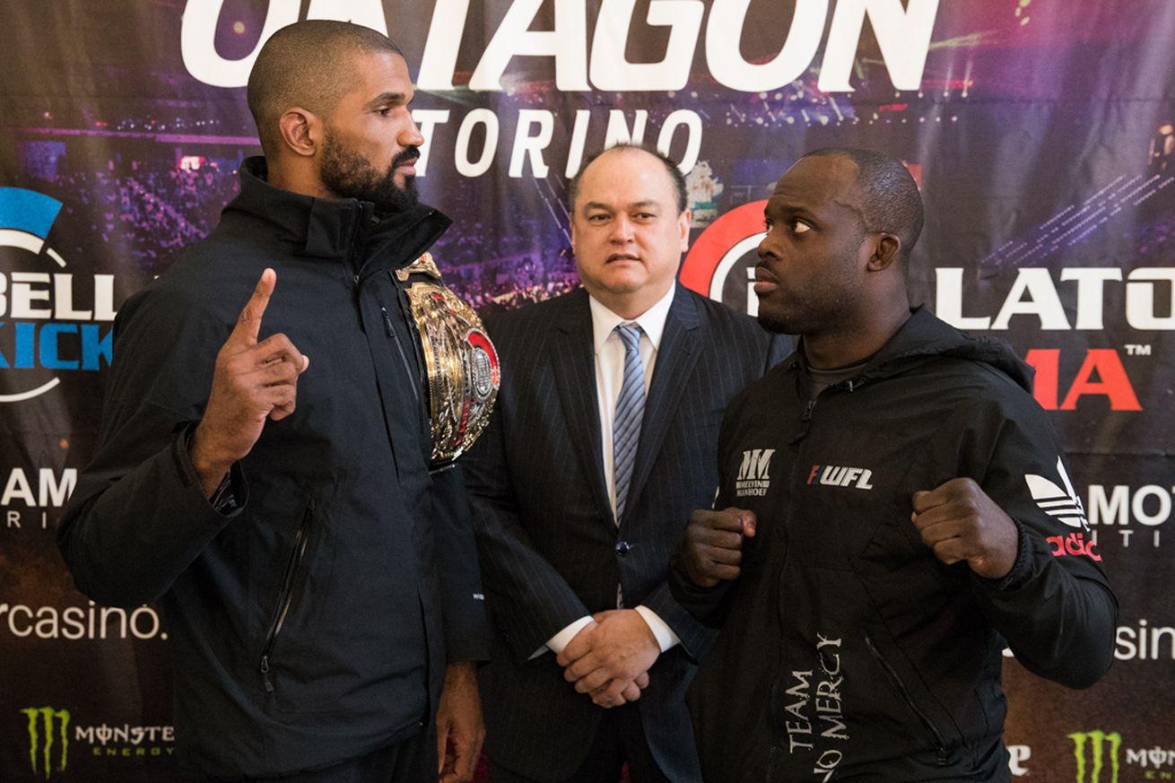 Rafael Carvalho ignores critics, aims to KO Melvin Manhoef to defend Bellator title