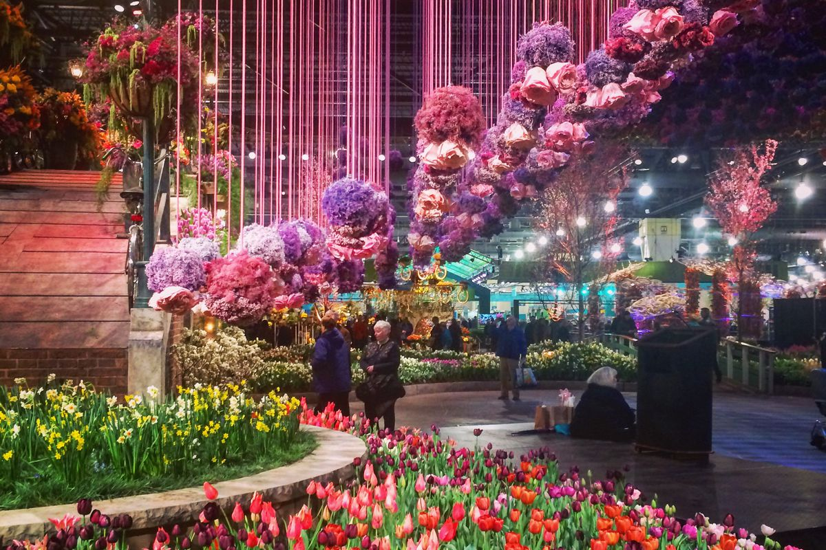 The Philadelphia Flower Show In 18 Magical Instagram