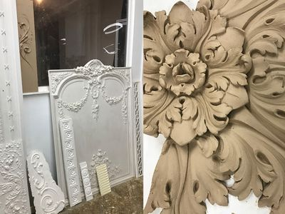 Antique plaster and how to restore it