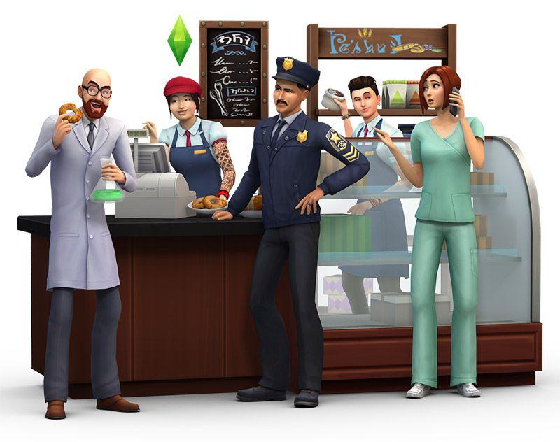 The Sims 4: На работу Доктор 1 ступень карьеры