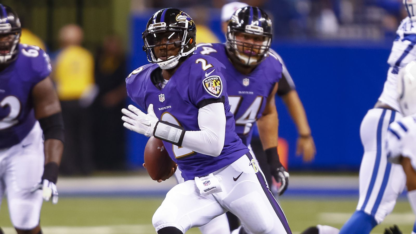 Harbaugh confirms Josh Johnson and Ryan Mallett competing for No ...