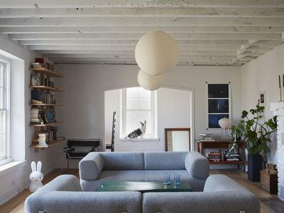 A neglected house becomes a home in the Hudson Valley