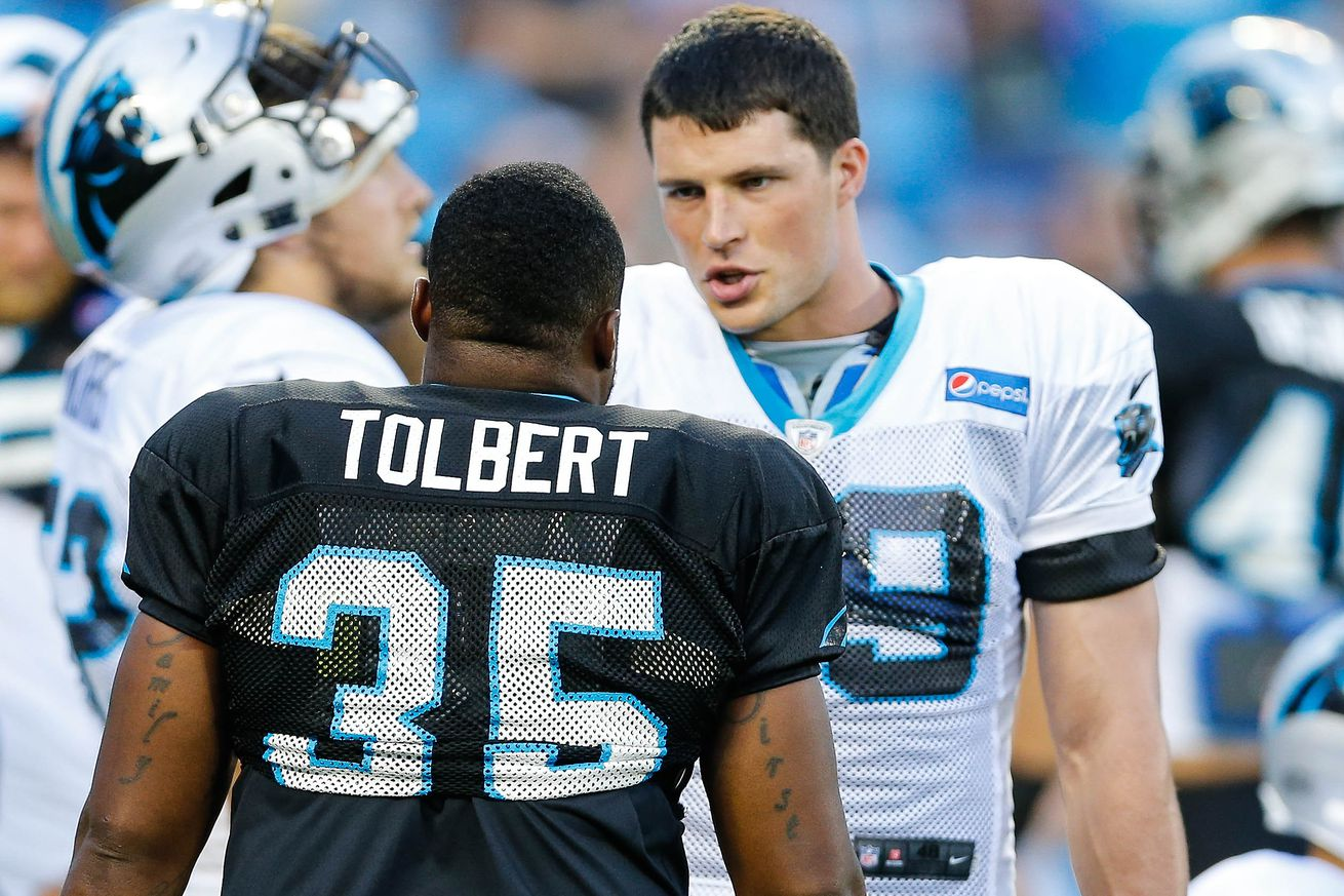 NFL Jerseys Outlet - Panthers release first depth chart of Preseason - Cat Scratch Reader
