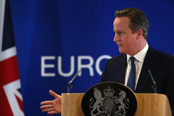 Cameron after negotiating new membership terms.