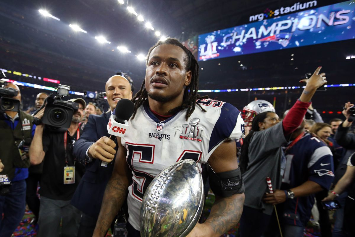 Patriots' Dont'a Hightower's physical scared Jets