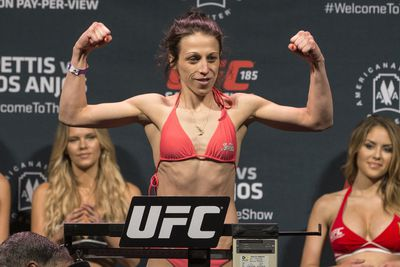 UFC Fight Night 69 weigh in results, video replay for 'Jedrzejczyk vs. Penne' in Berlin