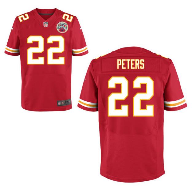 NFL Jersey's Men's Kansas City Chiefs Stevie Brown Pro Line Red Player Jersey