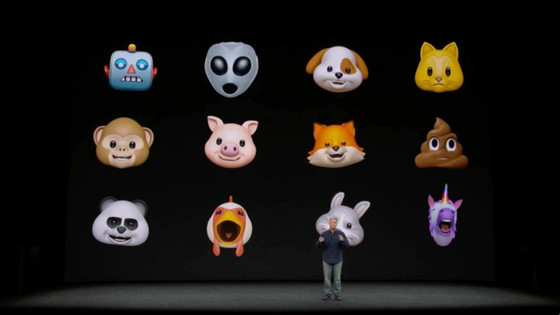 Apple Announces Animoji Animated Emoji For IPhone X
