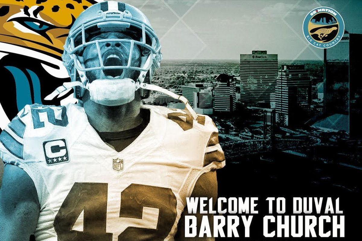 Jaguars agree to deal with S Church