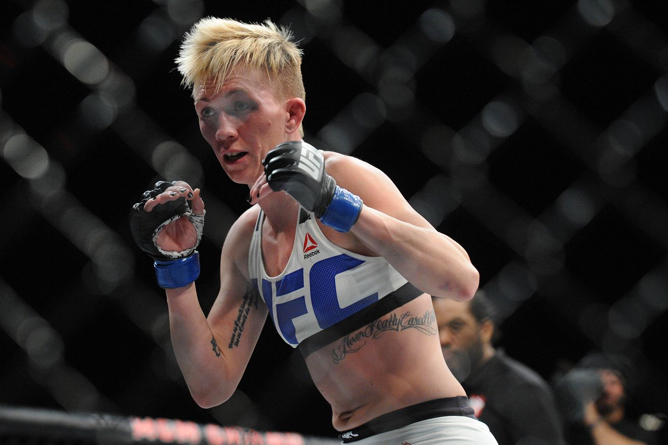 community news, Jocelyn Jones Lybarger retires from MMA following loss to Nina Ansaroff at UFC Fight Night 103