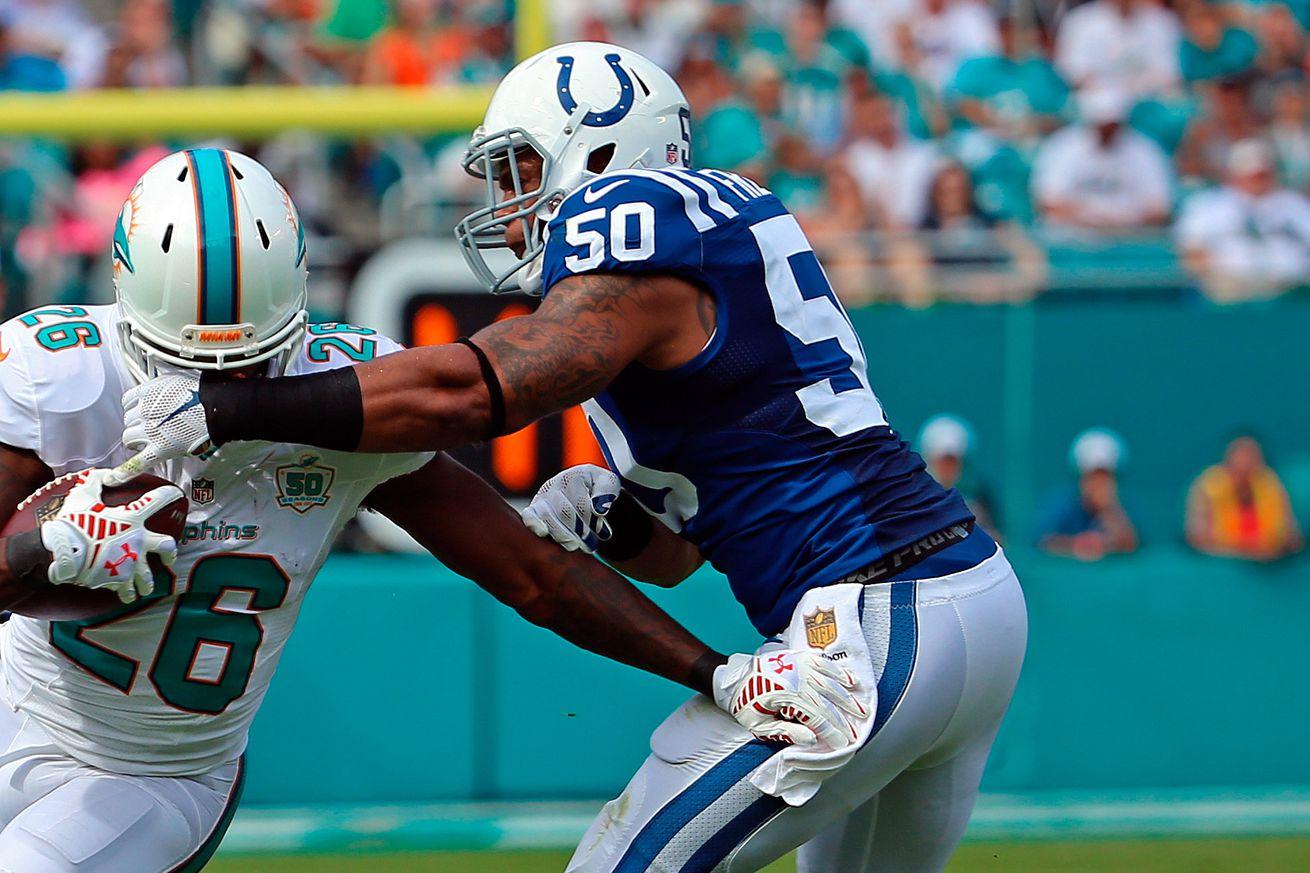 Cheap NFL Jerseys NFL - Jerrell Freeman rips into former Colts teammate Coby Fleener ...