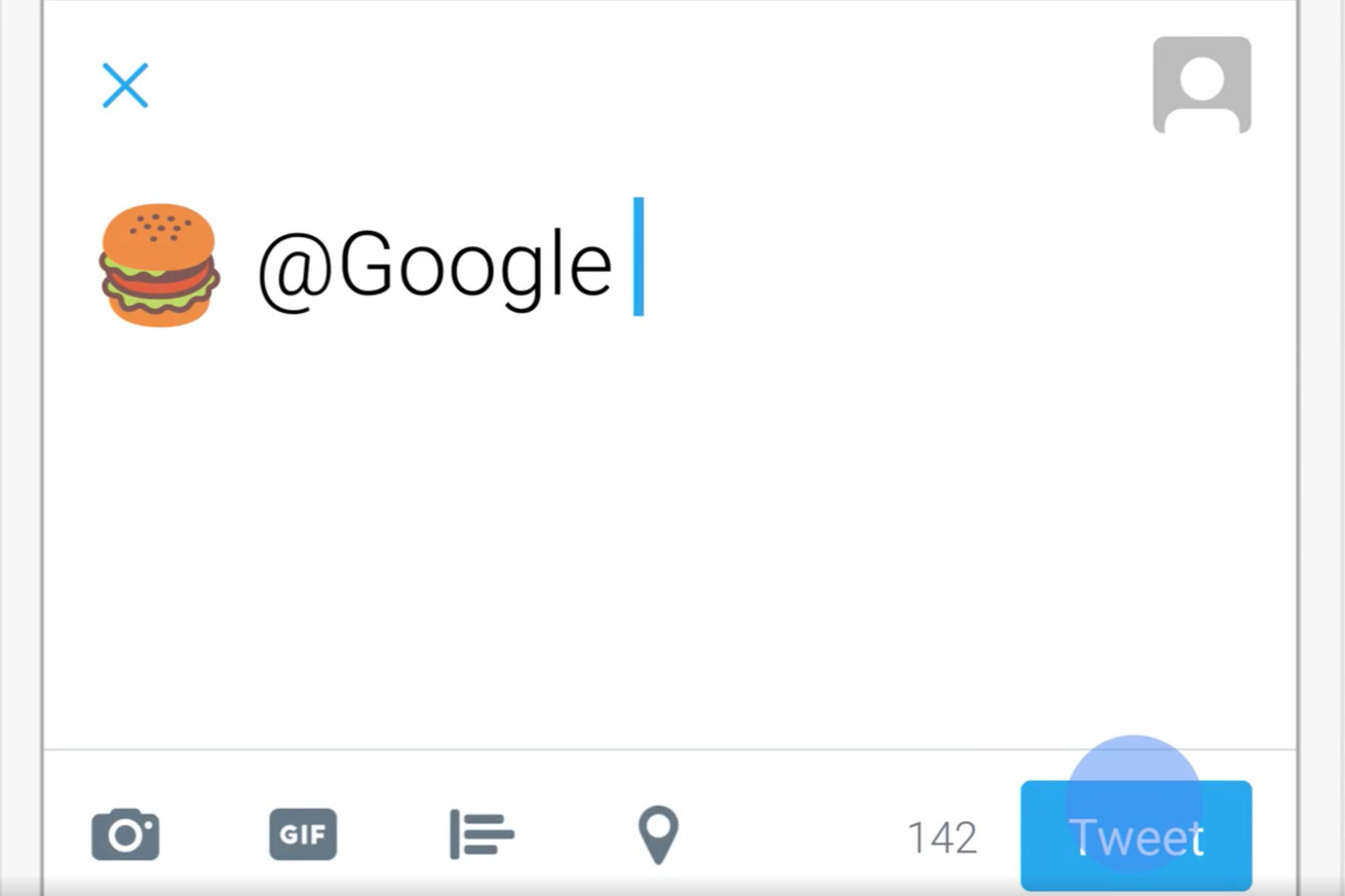 if you tweet emoji at google it will reply with local search results