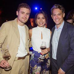 From left, Adam Coghlan (Eater's London Editor), Vanessa Fontanez (Executive Director of Brand Marketing, Vox Media), Jim Bankoff (CEO & Chairman, Vox Media)