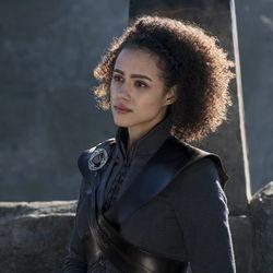 Missandei is Daenerys' closest confidante.