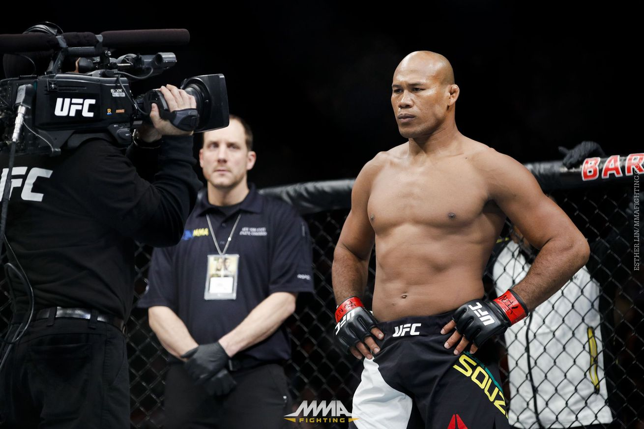 community news, 'Jacare' Souza not willing to wait for a title shot: 'I wasn't born to sit around'