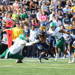 Again, another Toledo player with the ball.<br>