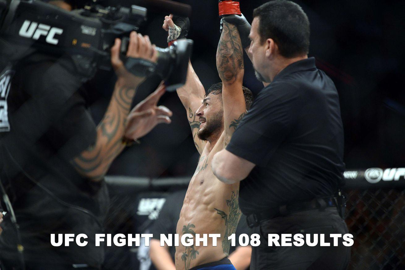 UFC Fight Night 108 live results stream, Swanson vs Lobov play by play updates