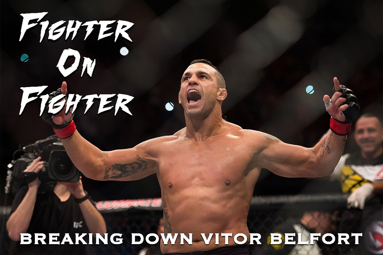 community news, Fighter on Fighter: Breaking down UFC Fight Night 106's Vitor Belfort