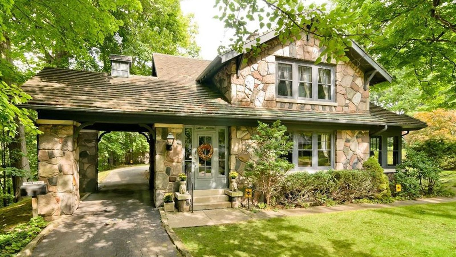 Stunning Old Redford Stone House In Wooded Setting Asks