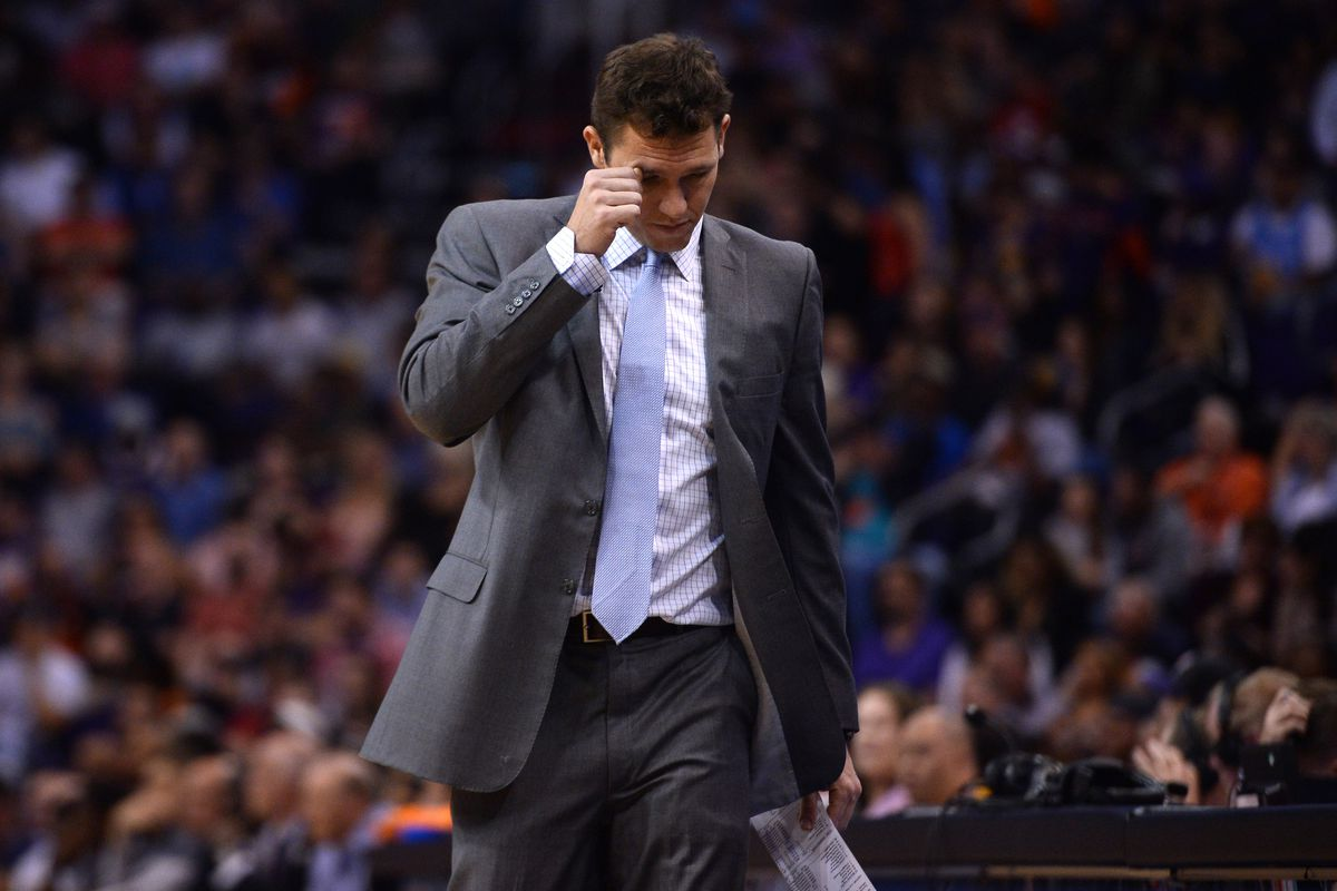 After shoving match and ejections, Lakers coach Luke Walton was absolutely furious