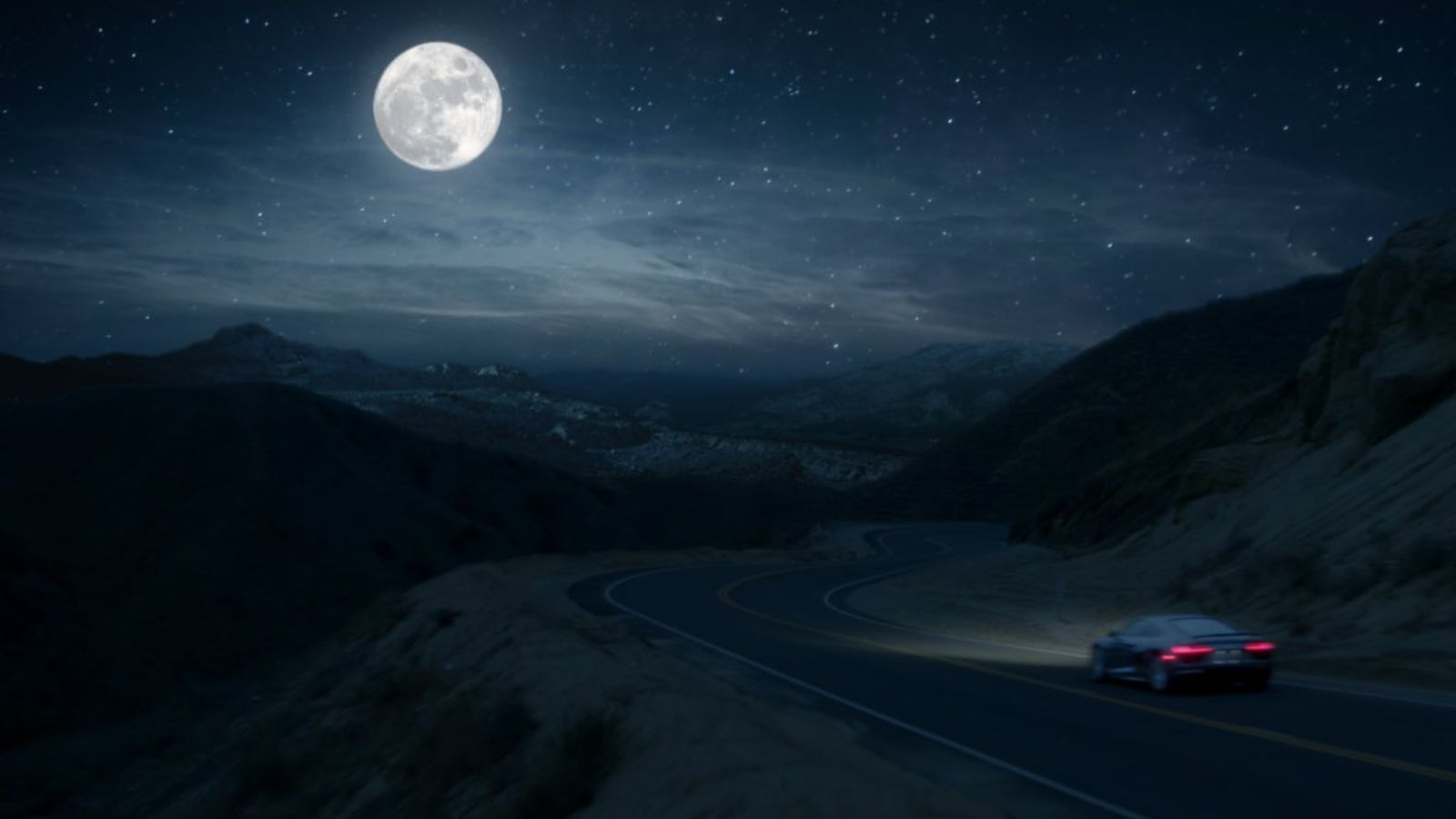 audi 39 s super bowl ad claims driving an r8 is like going to the moon. Cars Review. Best American Auto & Cars Review