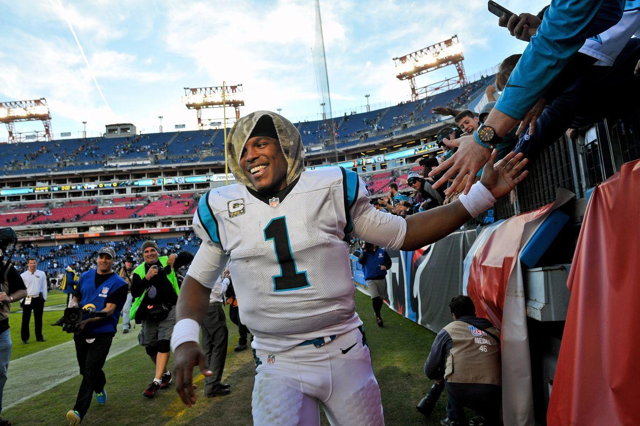 Cheap NFL Jerseys Wholesale - 2015 Carolina Panthers' Season Overview. - Cat Scratch Reader