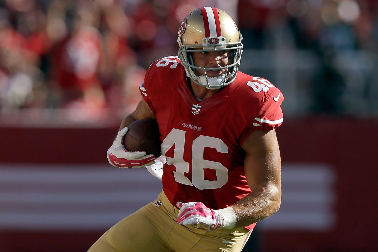 NFL Jerseys Cheap - 49ers bubble watch: Who of Derek Carrier, Garrett Celek, Busta ...