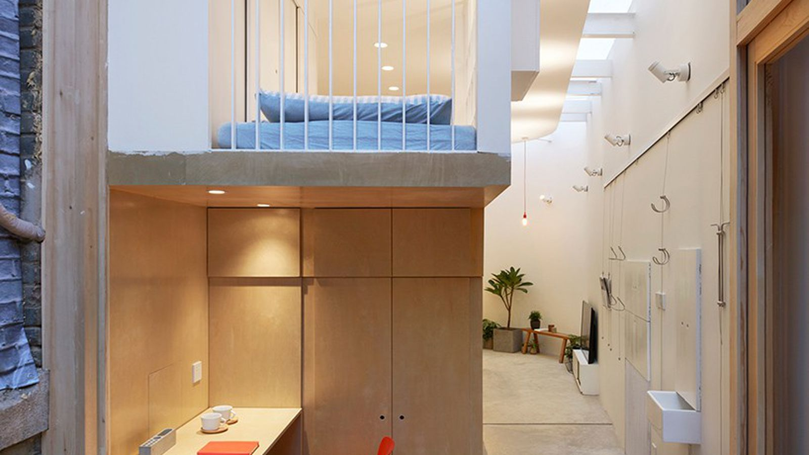 Clever tiny home fits a family of 6 in beijing curbed for Tiny house family of 6