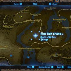 Breath of the Wild - Rota Ooh Shrine Guide - YouTube